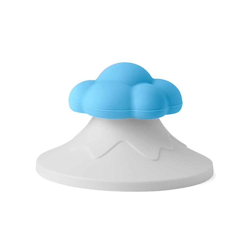 TOYOYO|雲朵造型感溫杯罩 - 藍雲