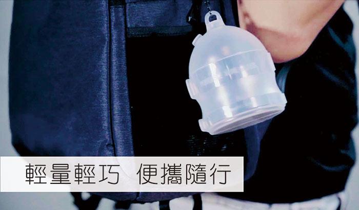 (複製)JoyRuby|BOSO 攜帶式摺疊紅酒杯(附收納袋)-白
