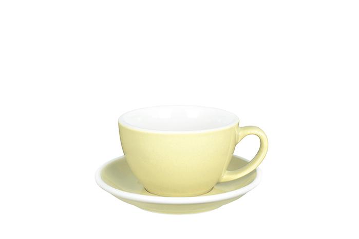 紐西蘭Acme & Co.|圓弧形拿鐵咖啡杯組 - 280ml 黃
