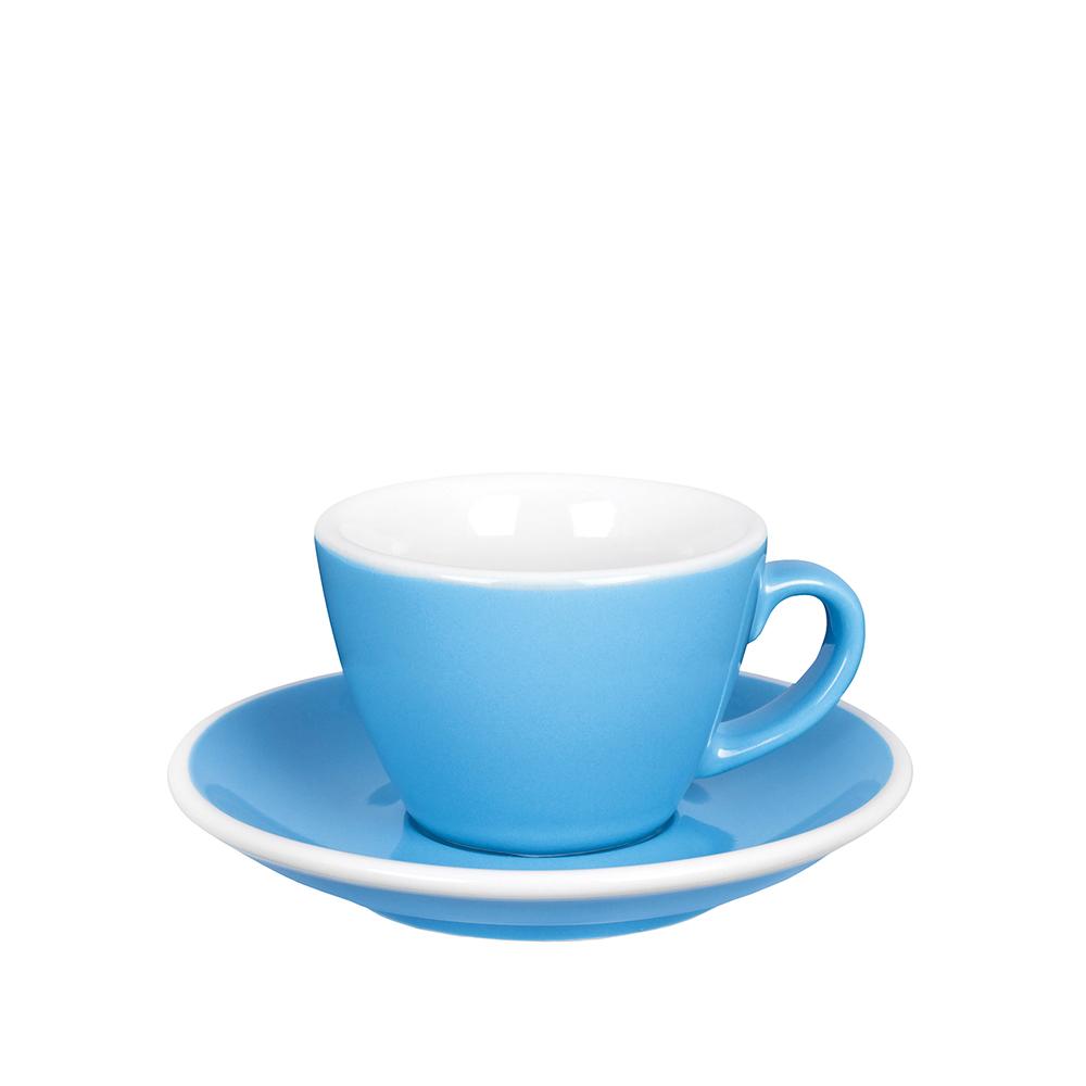 紐西蘭Acme & Co. 圓弧形小白咖啡杯組 - 150ml 藍