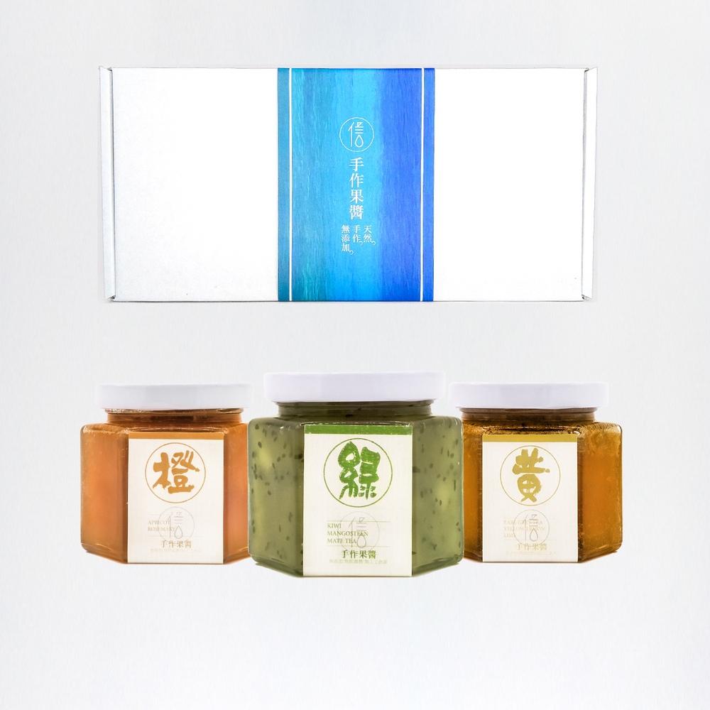 信の天然手工果醬|精品手工果醬禮盒|木質調口味組合