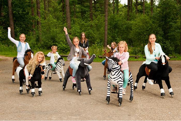澳洲 Magic Prince│騎馬機-Zebra斑馬(拉拉)
