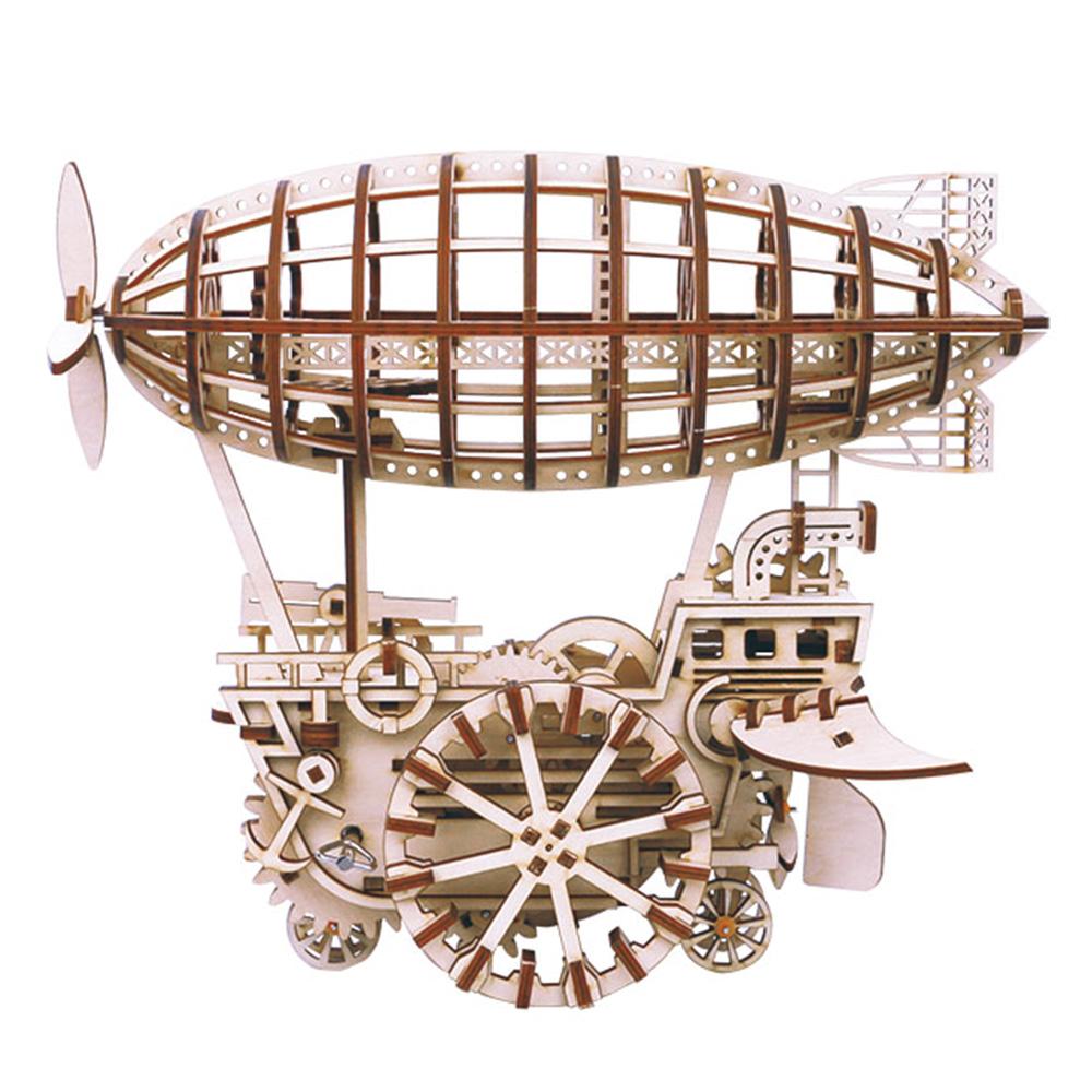 ROBOTIME|DIY木製自走模型-飛船Air Vehicle