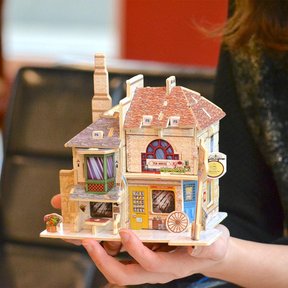 ROBOTIME 世界風情小屋-世界風情小屋-英國紅茶館Tea House