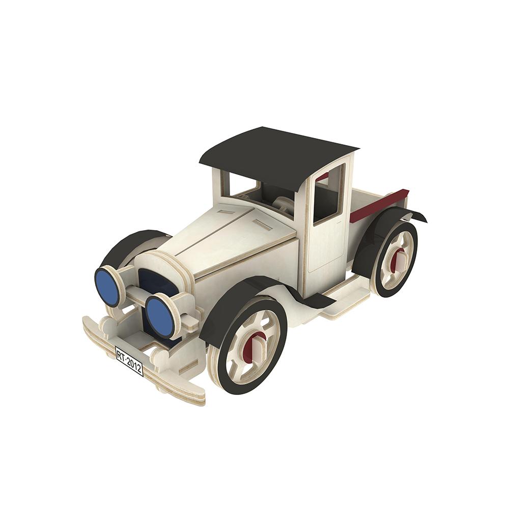 ROBOTIME|立體木質模型-經典老爺車Classic Car