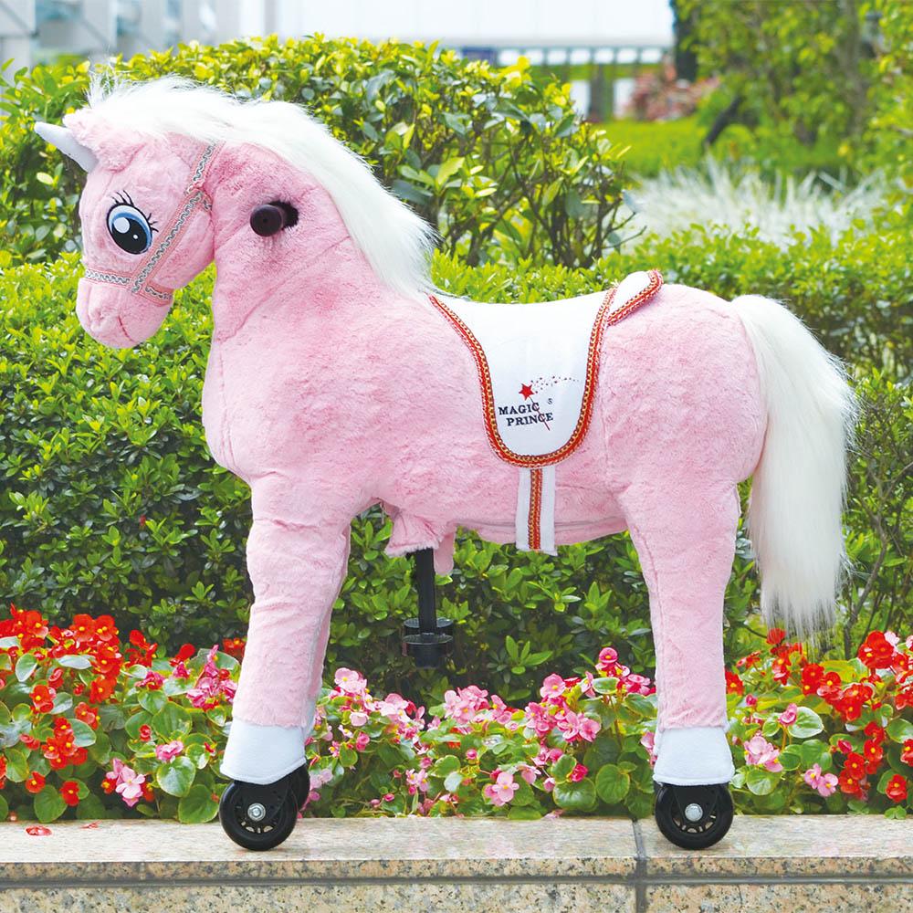 澳洲 Magic Prince│騎馬機-Unicorn Pink粉紅獨角獸(珍妮)