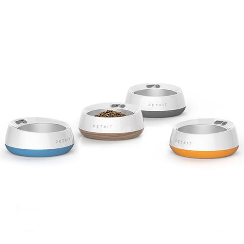 PETKIT|佩奇可拆式智能寵物碗/木紋棕