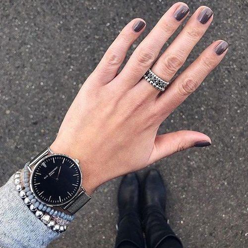 (複製)Elie Beaumont|英國時尚手錶 牛津米蘭錶帶系列 白錶盤x銀色錶帶錶框38mm