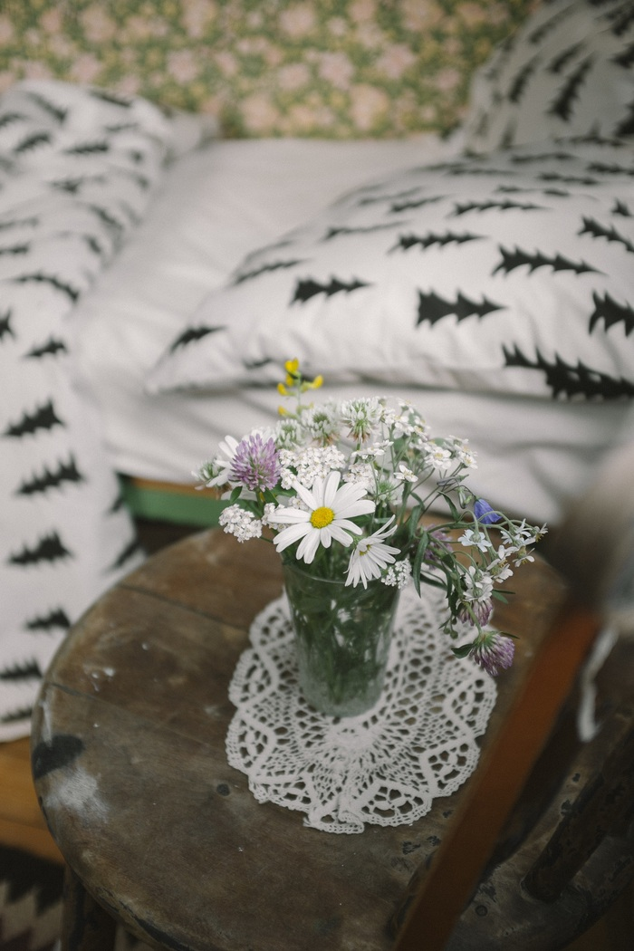 (複製)Fine Little Day 有機棉被套枕套兩件組 – OHOY BED SET, NATURE