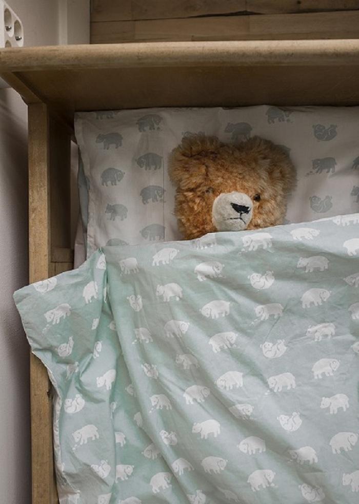 (複製)Fine Little Day|有機棉被套枕套兩件組 – GRAN BED SET, BLACK