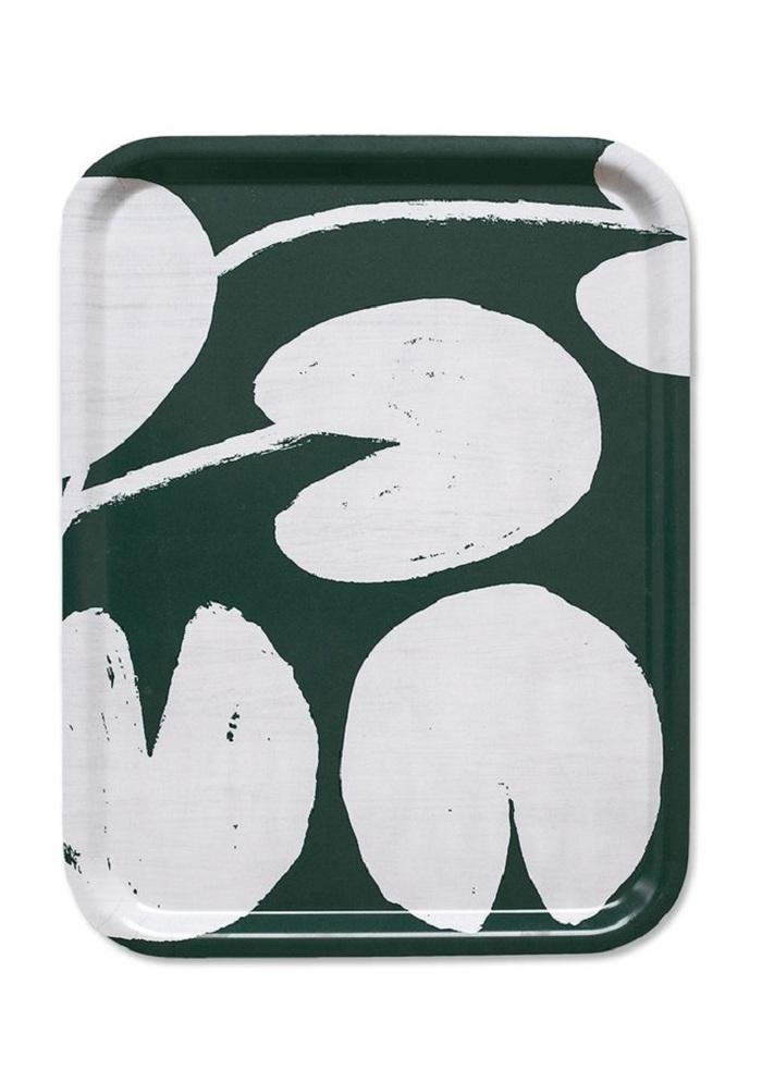 (複製)Fine Little Day|方型托盤-WATER LILIES TRAY, MUSTARD (43 X 33 cm)