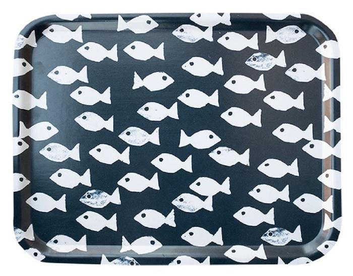 (複製)Fine Little Day|方型托盤-FISH TRAY, OCEAN (43 X 33 cm)