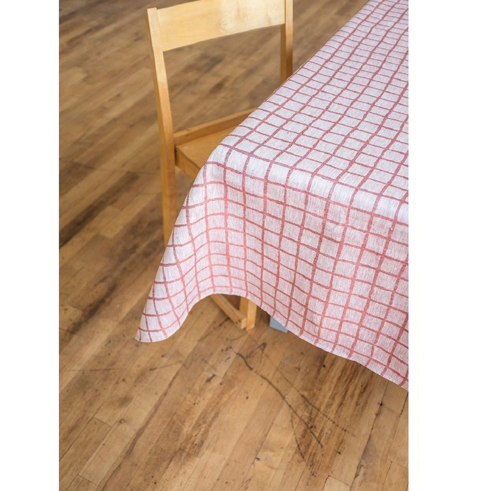 Fine Little Day|北歐風設計師款 – 格子桌巾, 紅色 (147X147cm) Rutig Tablecloth, Red