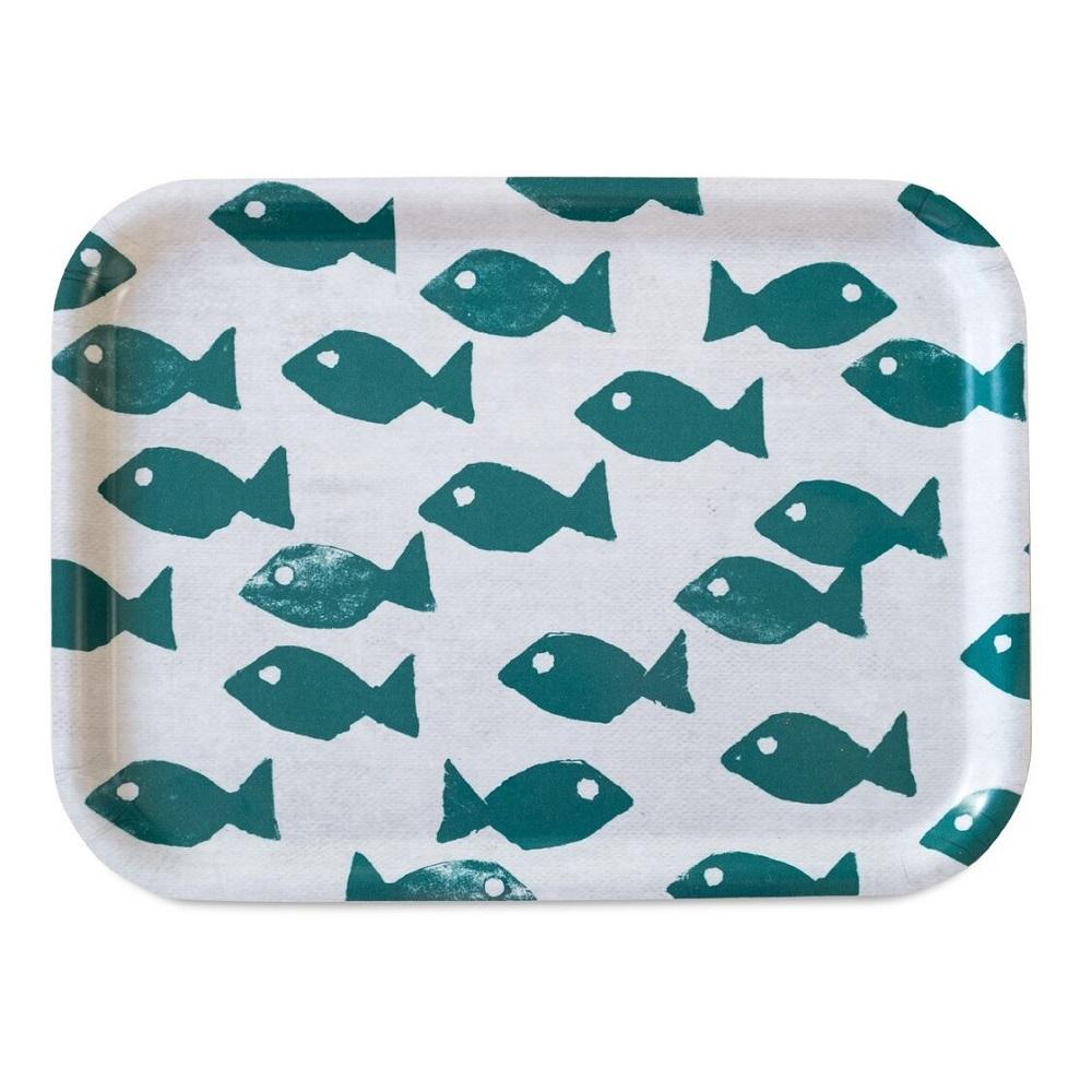 Fine Little Day|方型托盤-FISH TRAY, OCEAN (27 X 20 cm)