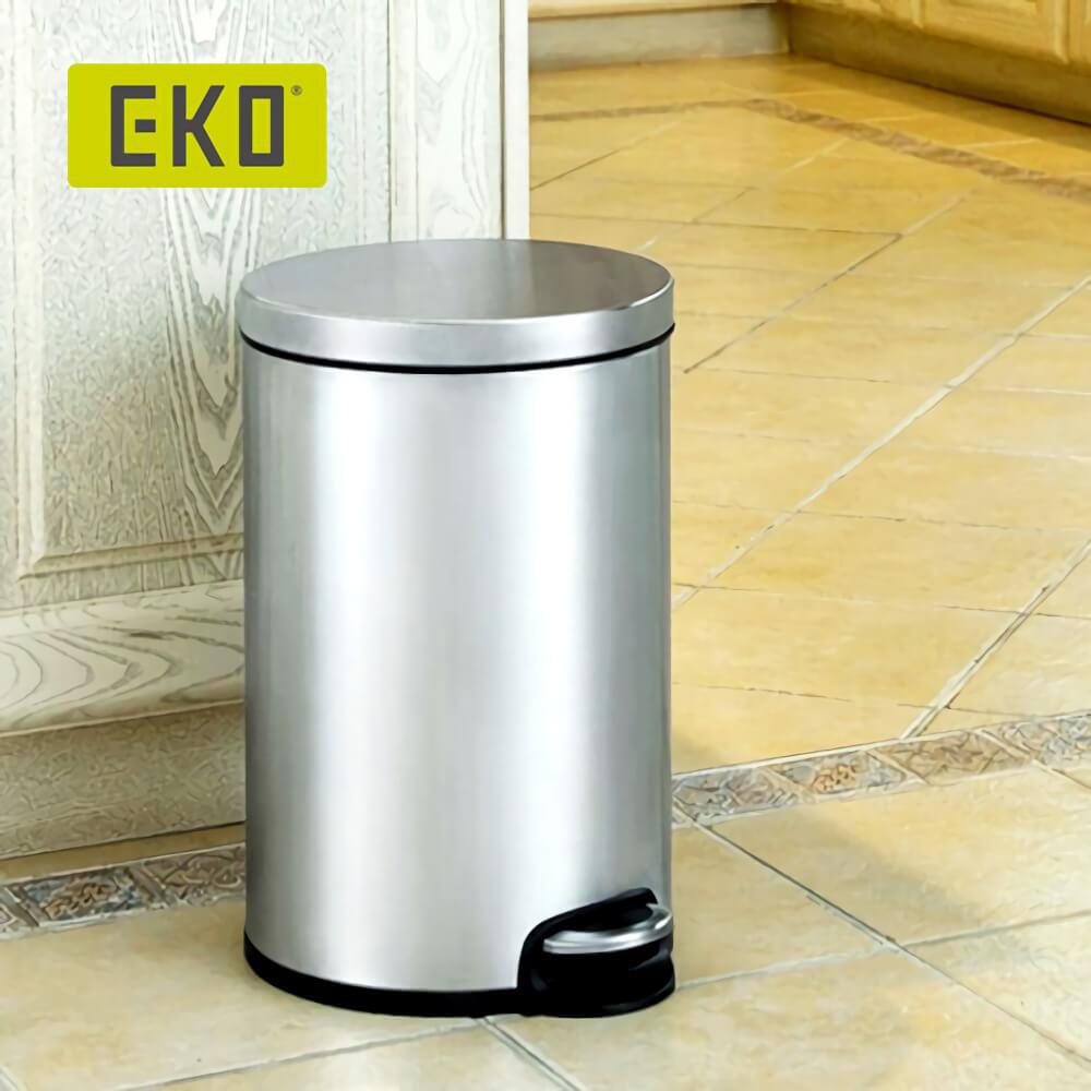 EKO 心悅緩降靜音垃圾桶 5L