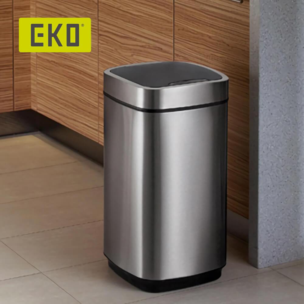 EKO|臻美自動感應垃圾桶 15L