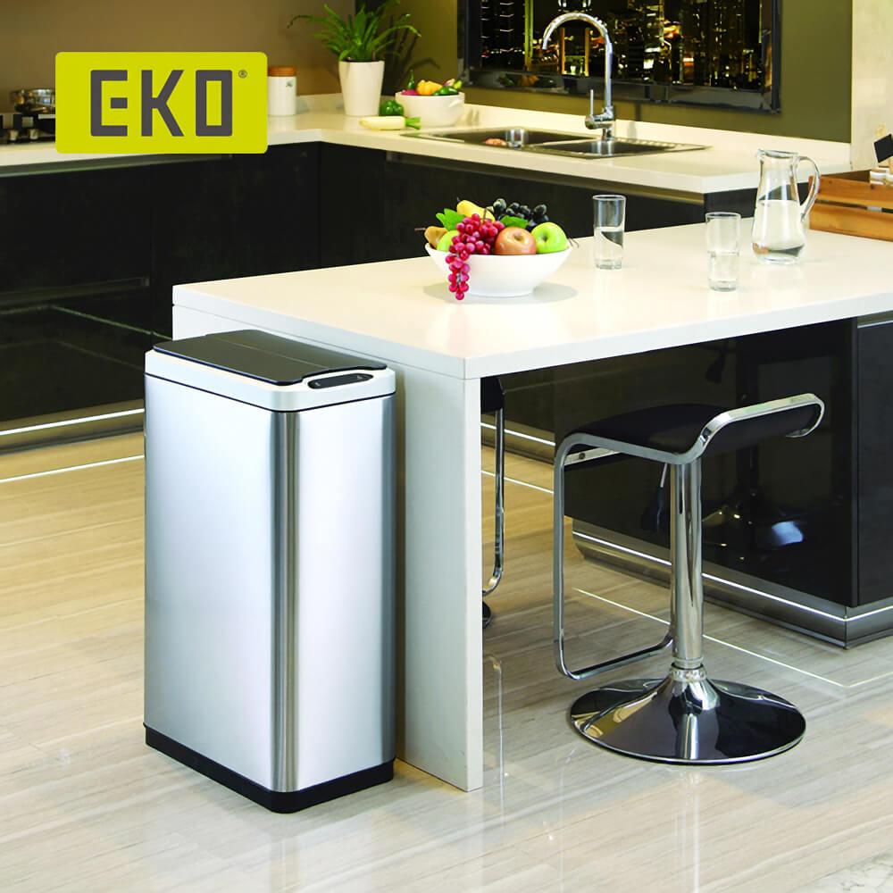 EKO|幻影自動感應垃圾桶-30L