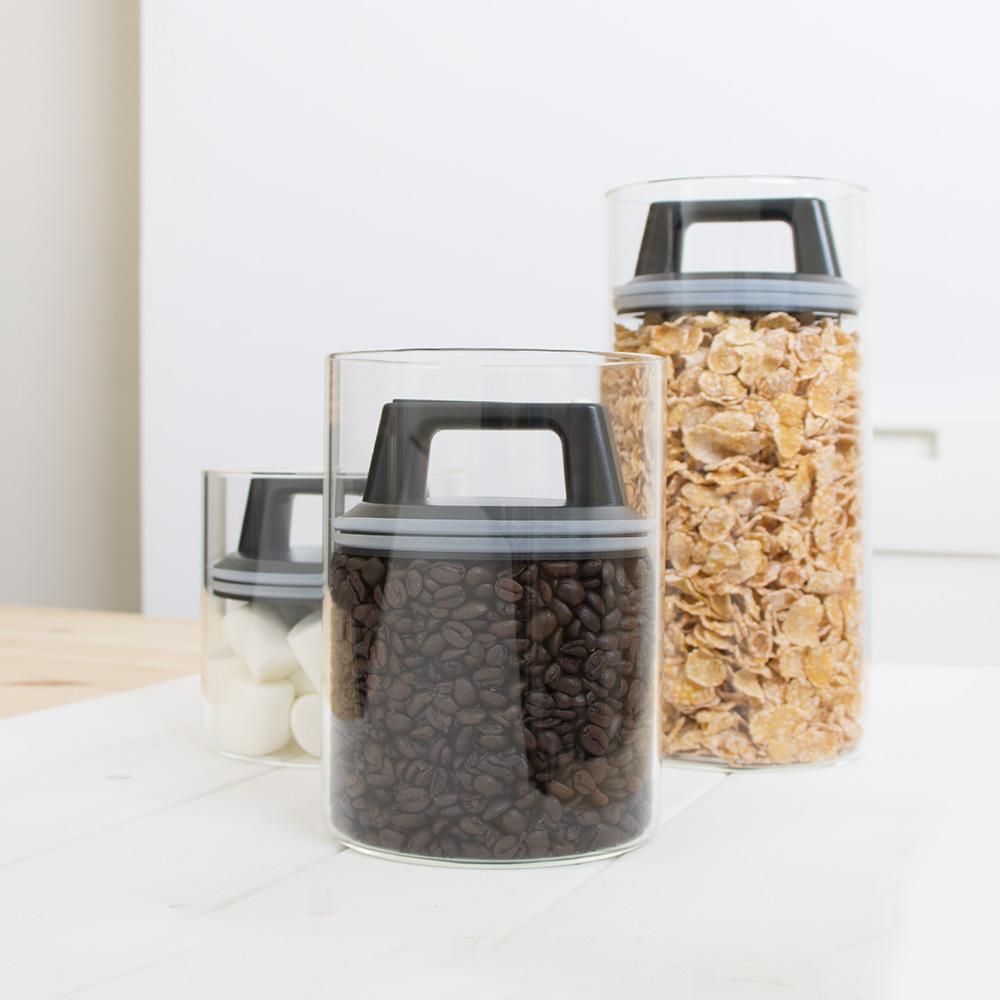 富士商|蓋新鮮 壓拉式保鮮罐-1300ml