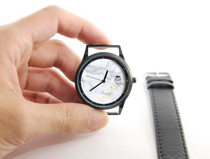 WenTi|插畫X手錶─休閒時光(3pm)