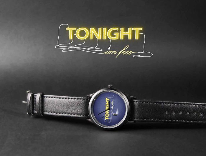 WenTi|插畫X手錶─TONIGHT