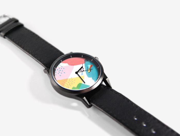 WenTi|插畫X手錶─Rainbow(24 ST)