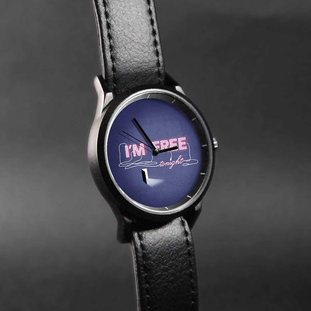 WenTi|插畫X手錶─I'M FREE