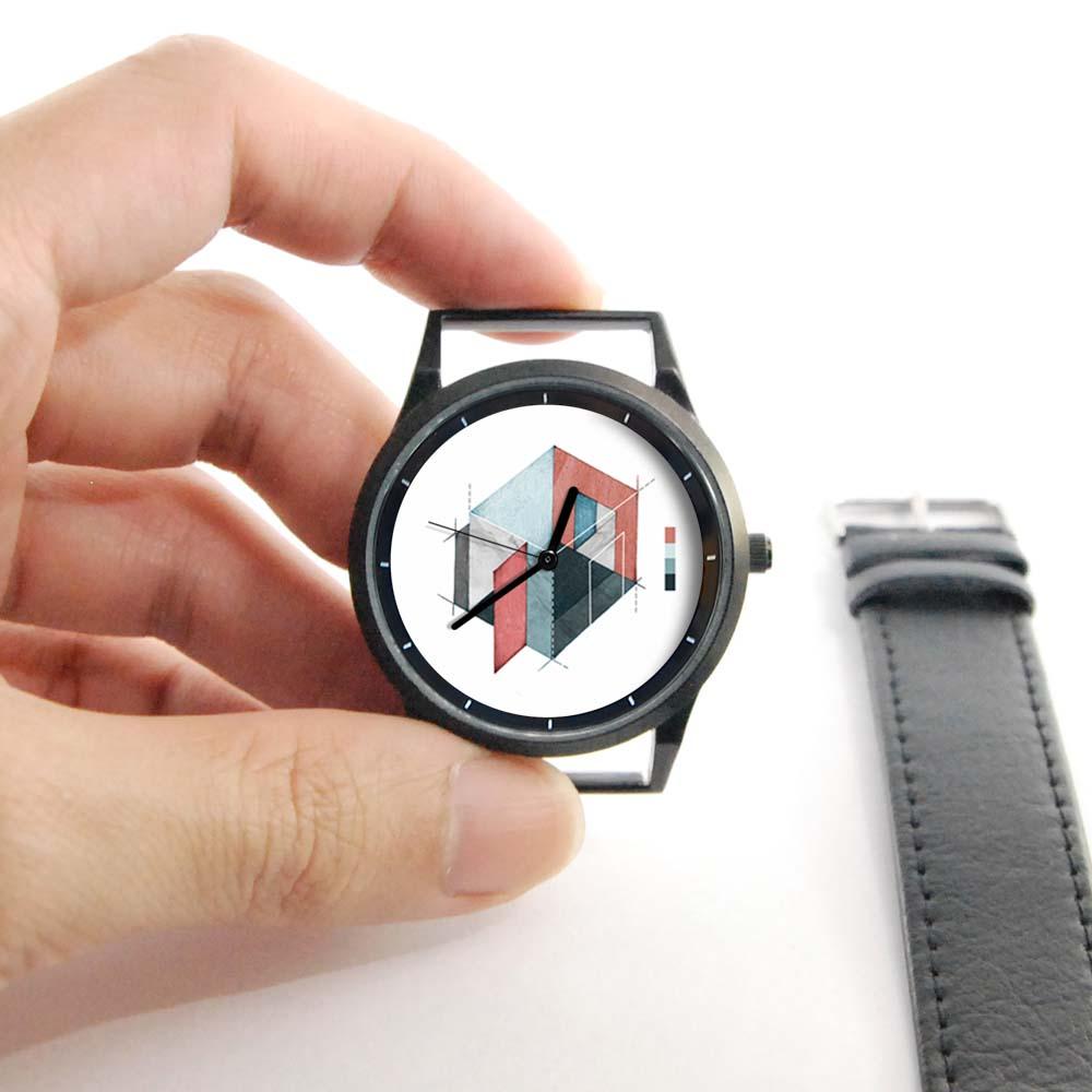WenTi 插畫X手錶─Blueprint(plan A)