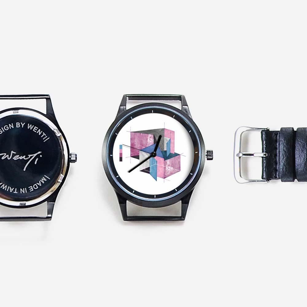 WenTi|插畫X手錶─Blueprint(plan B)