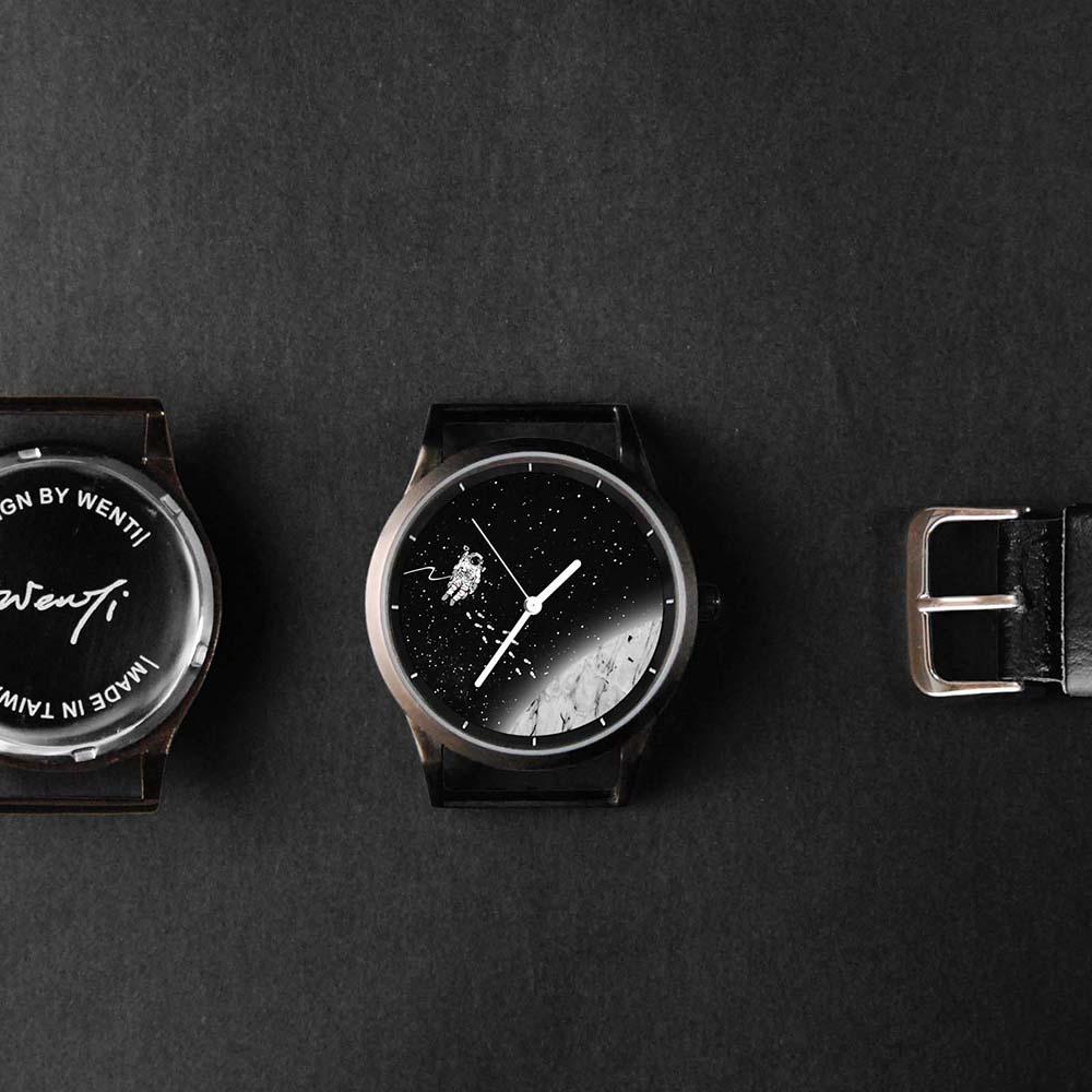 WenTi|插畫X手錶─太空漫遊系列(3am)