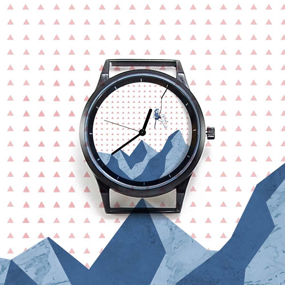 WenTi|插畫X手錶─Move on系列(Climbing)