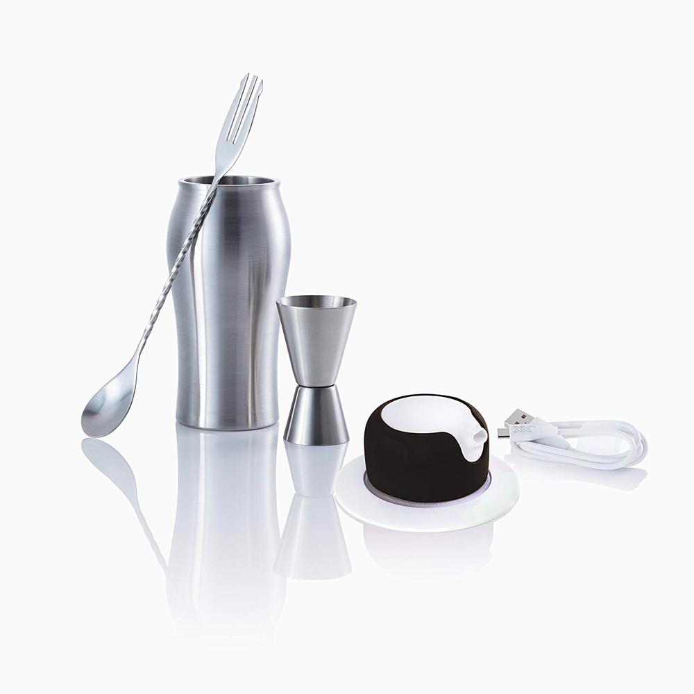 foampresso|攜帶式飲料泡沫器 (瑪瑙黑)
