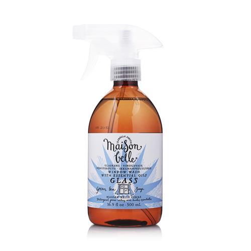 美生貝樂 Maison Belle|植萃精油玻璃清潔劑(綠茶/山艾)