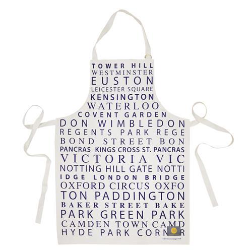 英國蛋 Victoria Eggs 純棉圍裙 倫敦地鐵
