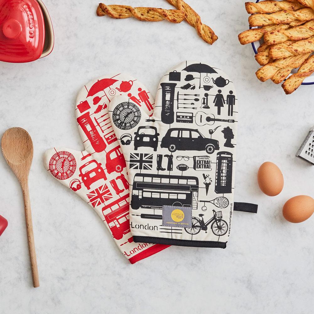 英國蛋 Victoria Eggs|烤箱手套 模型倫敦