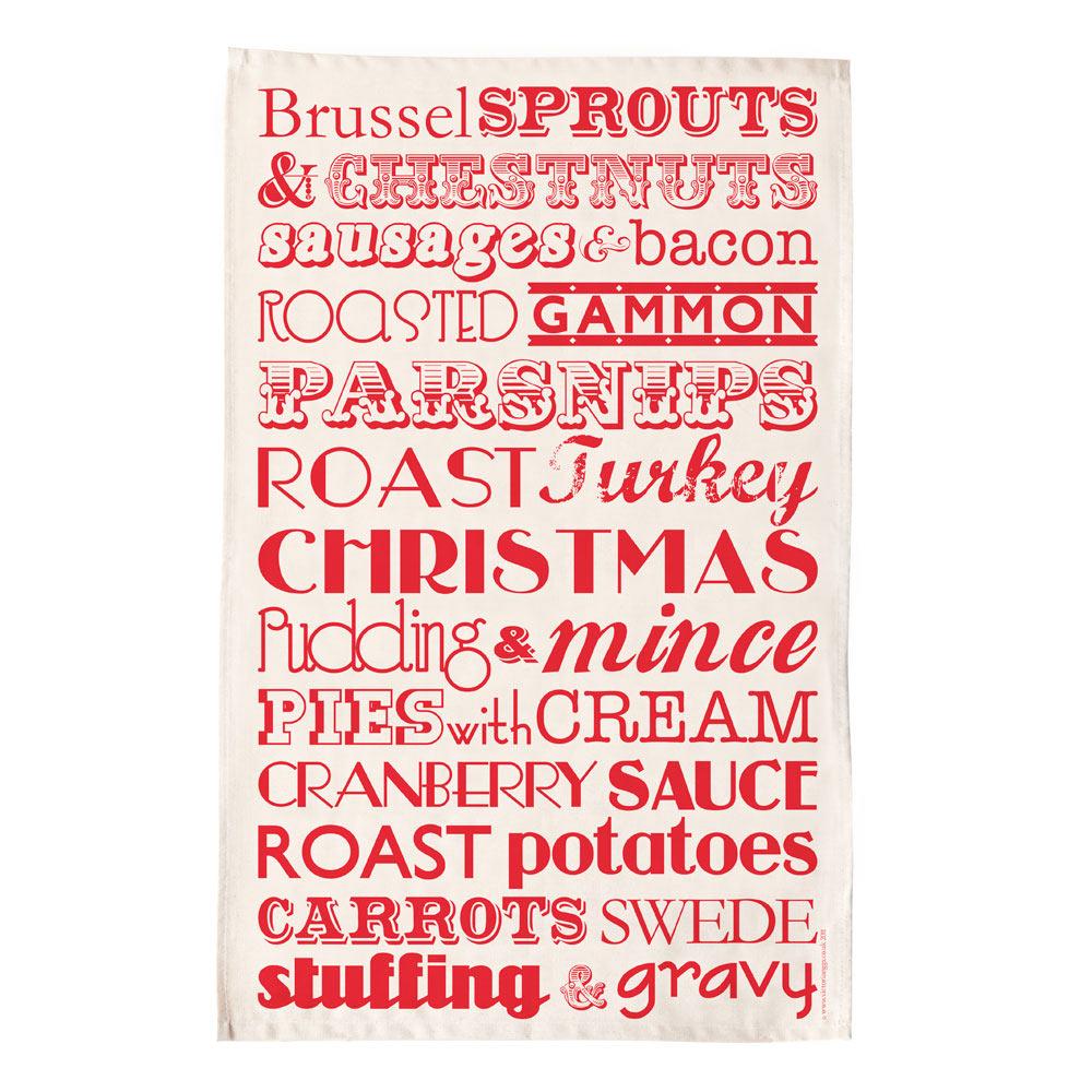 英國蛋 Victoria Eggs|純棉碗盤擦布 聖誕晚餐
