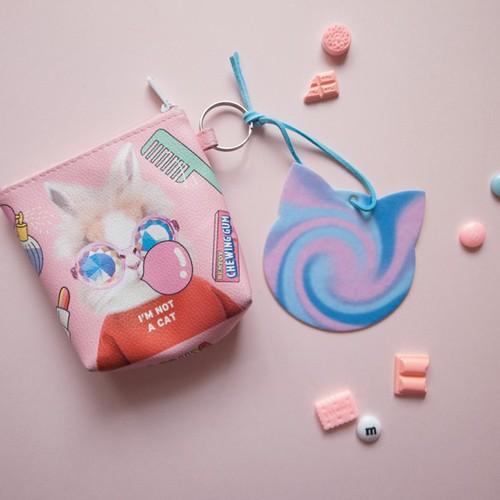 Scentlab 香氛實驗室|奇喵紫夢香氛吊飾 (鼠尾草與海鹽)