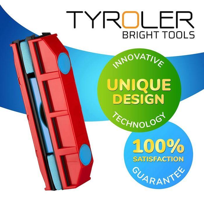 【集購】TYROLER| The Glider 雙面擦窗神器(雙層玻璃/厚度20mm)