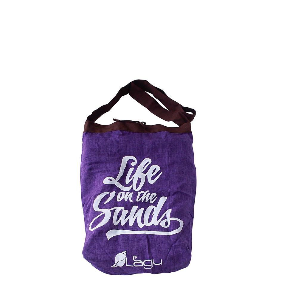 LAGU|快乾防沙袋 (紫)