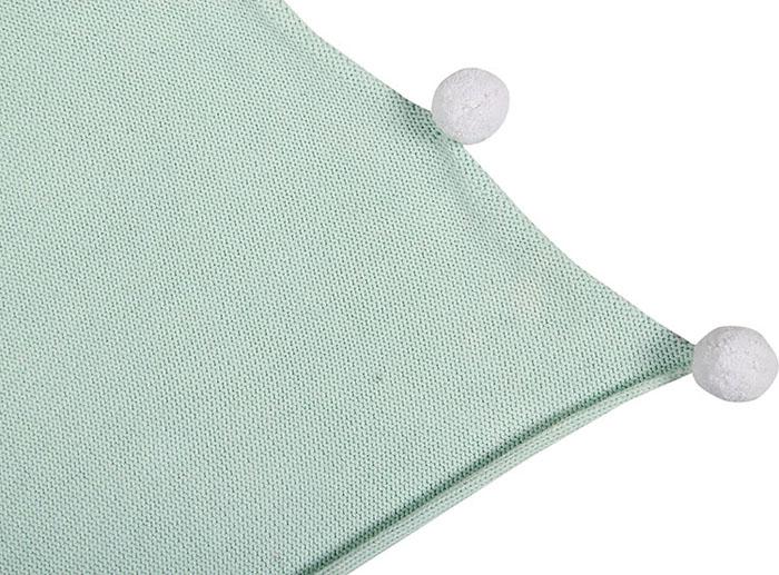 Lorena Canals|pompom毛球柔舒萬用被毯(薄荷綠)
