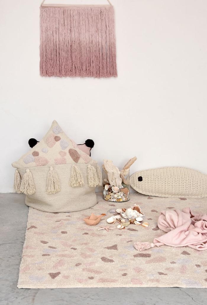 Lorena Canals|熱帶假期地毯(粉紅暮色)