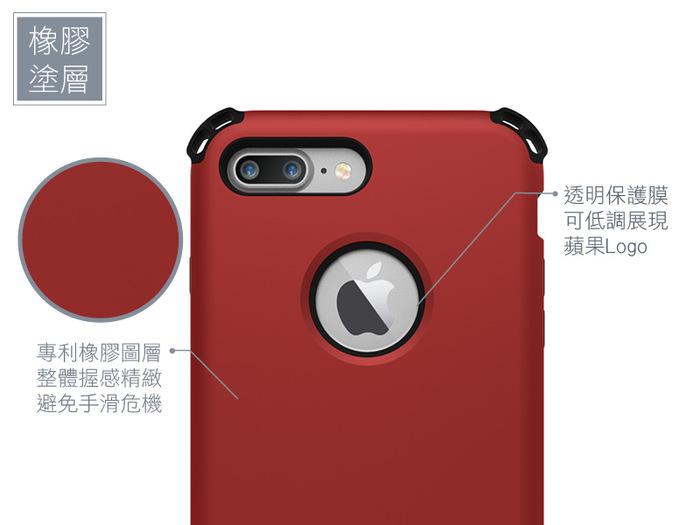 (複製)SEIDIO 軍規級四角防摔手機保護殼 for Apple iPhone X-DILEX(暗夜藍)