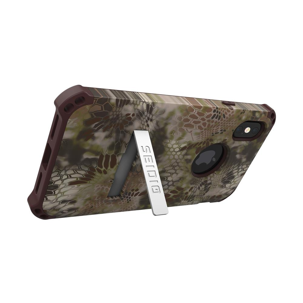SEIDIO|軍規級四角防摔手機保護殼 for Apple iPhone X-DILEXx KRYPTEK(荒野戰士)