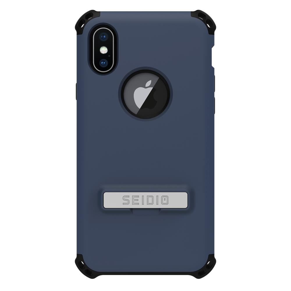 SEIDIO 軍規級四角防摔手機殼/保護殼 for Apple iPhone X-DILEX(暗夜藍)