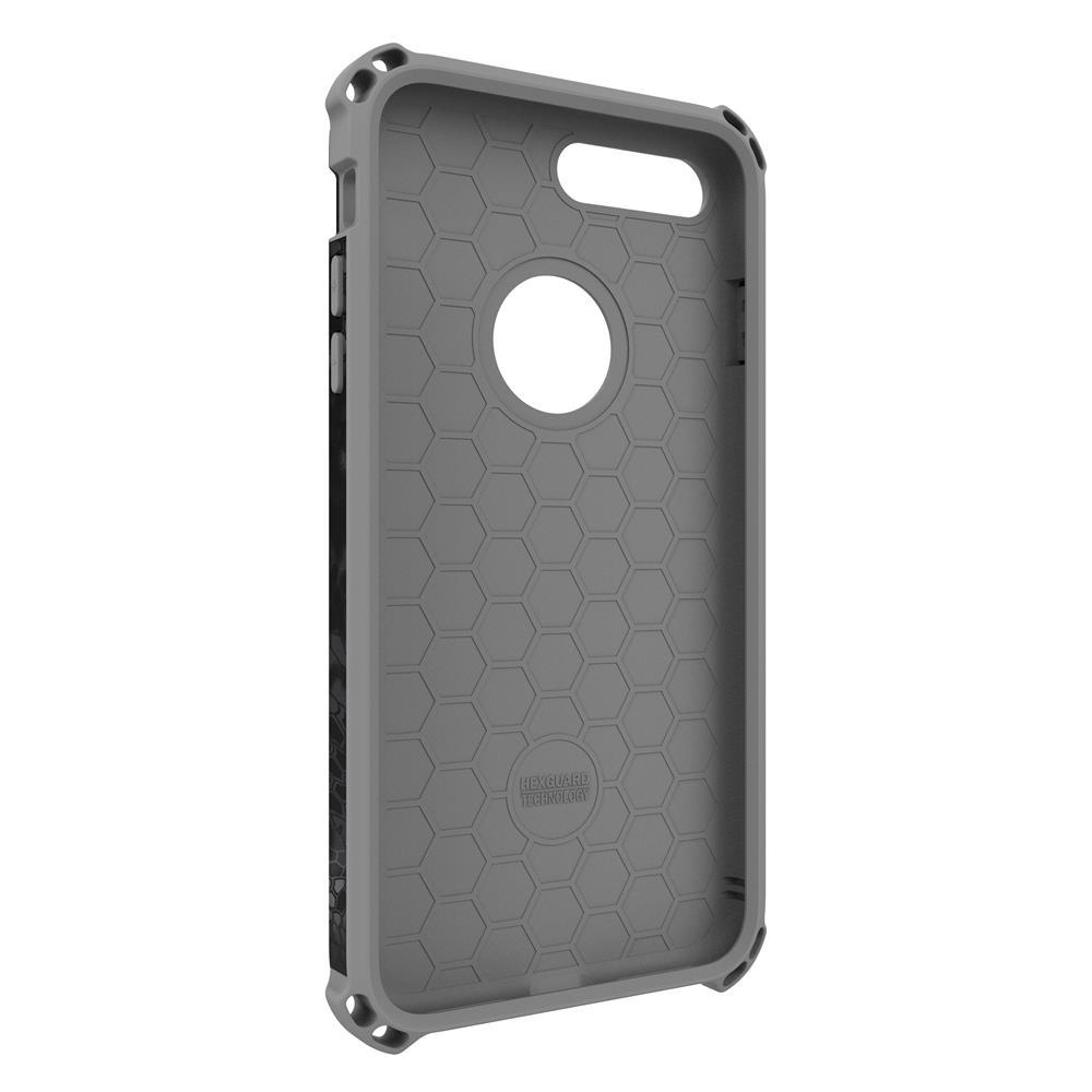 SEIDIO|軍規級四角防摔手機殼/保護殼 for Apple iPhone 7 Plus/8 Plus-DILEXx KRYPTEK(闇夜黑蟒)