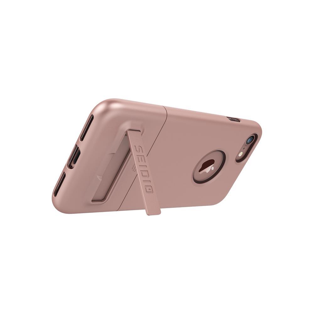 SEIDIO|都會時尚雙色手機殼/保護殼 for Apple iPhone 7-SURFACE(玫瑰金)