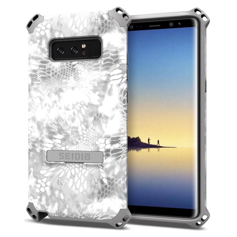 SEIDIO|軍規級四角防撞手機殼/保護殼 for Samsung Galaxy Note 8-DILEXx KRYPTEK(極地雪怪)