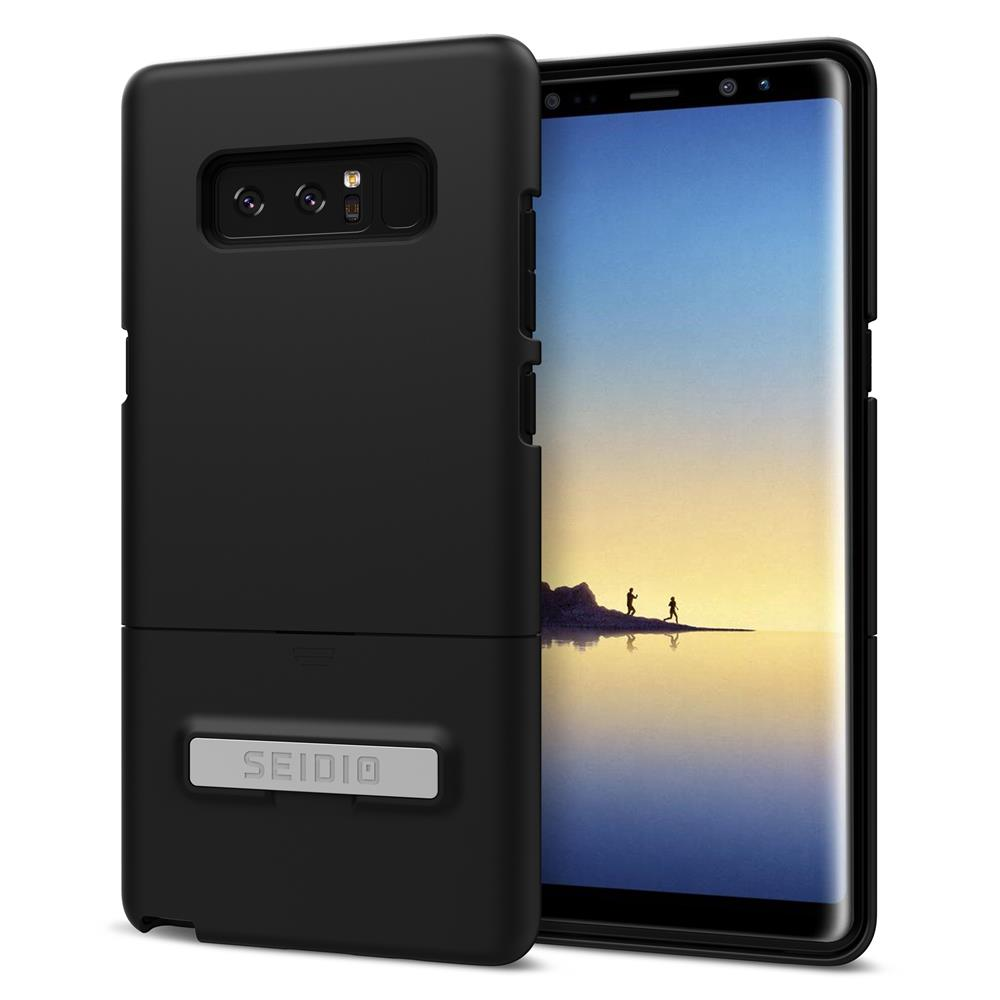 SEIDIO|都會時尚手機殼/保護殼 for Samsung Note 8-SURFACE(消光黑)