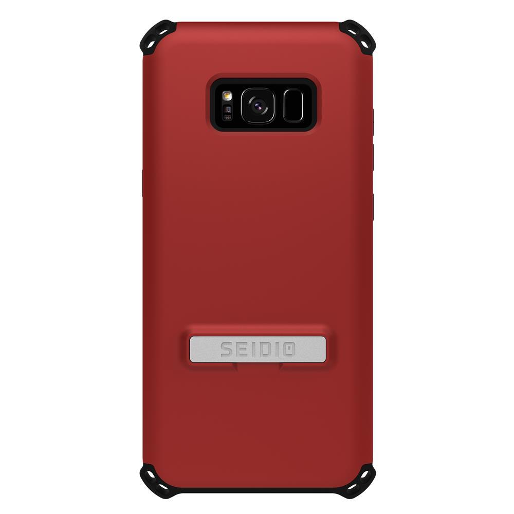 SEIDIO 軍規級四角防撞手機殼/保護殼 for Samsung Galaxy S8 Plus-DILEX(熱情紅)