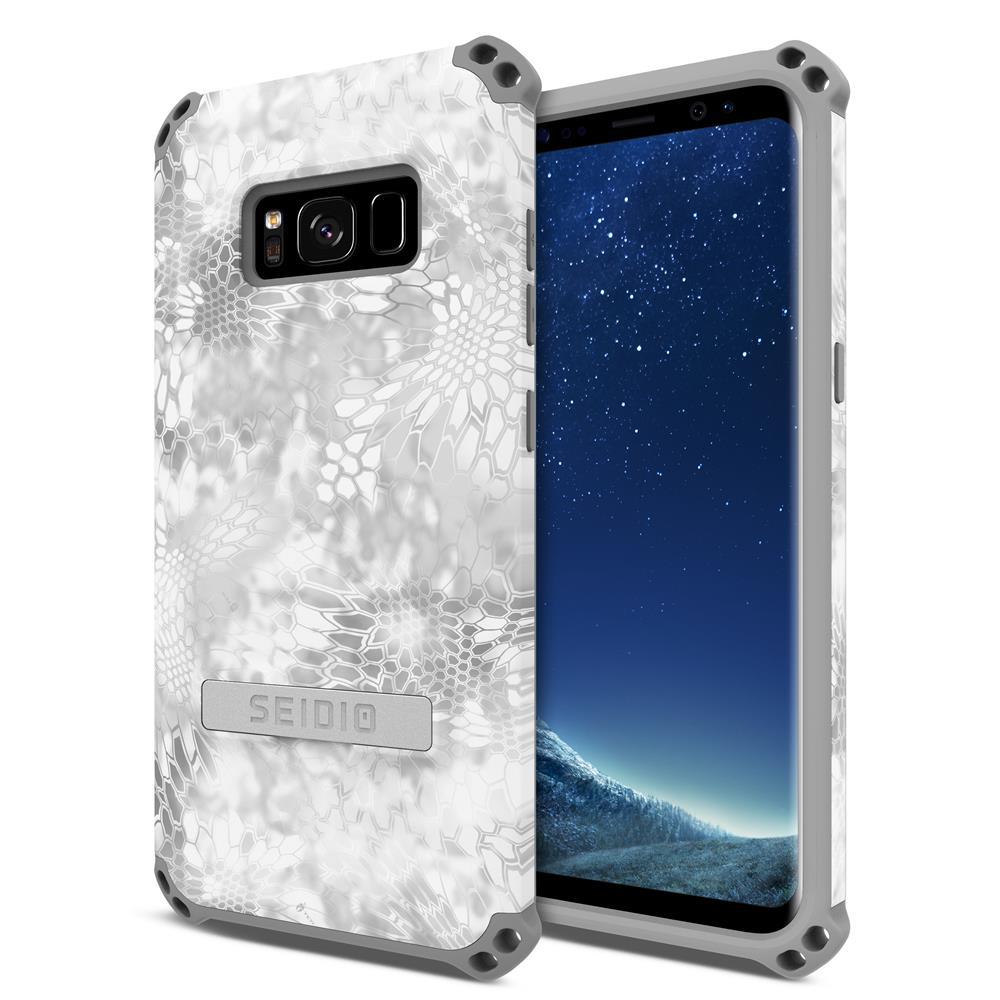 SEIDIO|軍規級四角防撞手機殼/保護殼 for Samsung Galaxy S8-DILEXx KRYPTEK(極地雪怪)