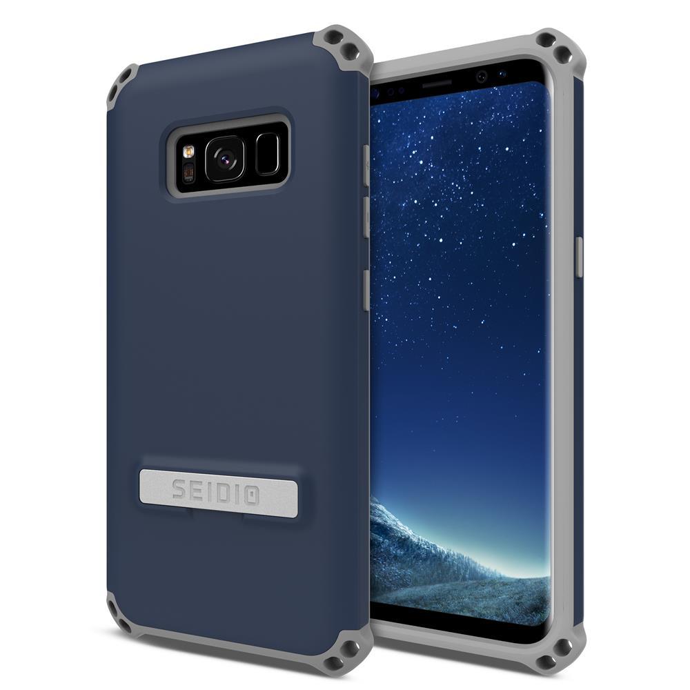 SEIDIO|軍規級四角防撞手機殼/保護殼 for Samsung Galaxy S8-DILEX(暗夜藍)